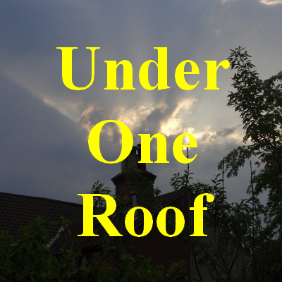 Image of sunlight through clouds over a roof forming a link to the Under One Roof page